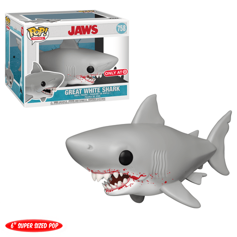 Funko POP Movies Jaws Great White Shark Target Exclusive 758 (Buy. Sell. Trade.)