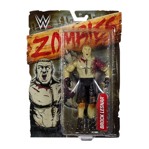 WWE Brock Lesnar Zombie Mattel Action Figure (Buy. Sell. Trade.)