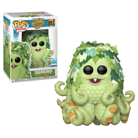 Funko POP! TV: Sigmund #853 SDCC 2019 Sticker (Buy. Sell. Trade.)
