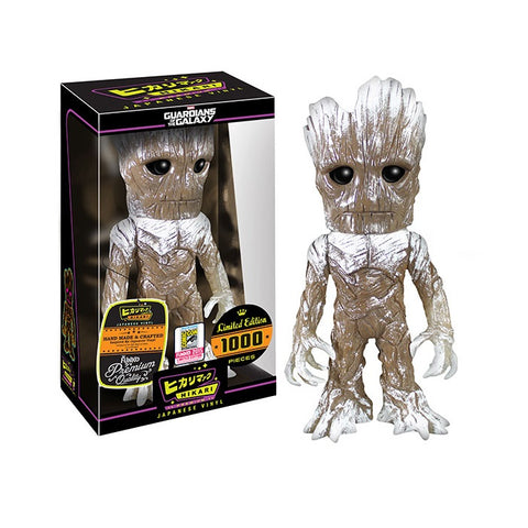 Hikari Japanese Marvel Vinyl Frost Groot SDCC 2015 Exclusive