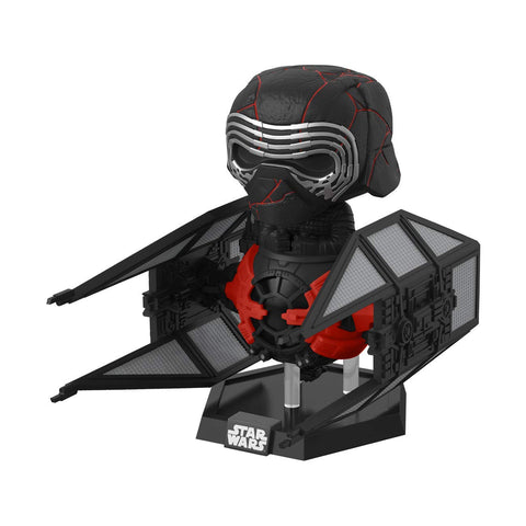 Funko POP! Deluxe Star Wars: Rise of Skywalker- Kylo Ren in Whisper
