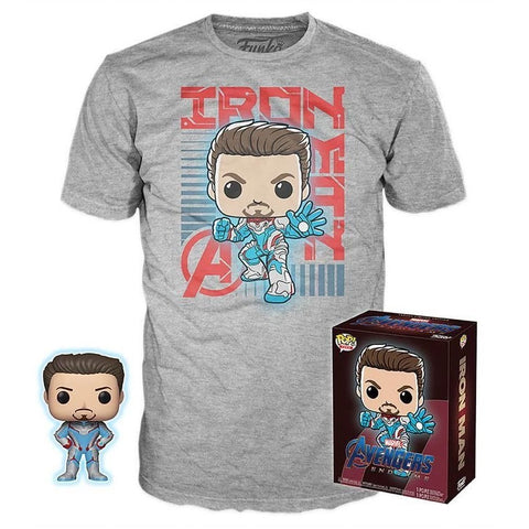 Funko POP! Marvel: Avengers Endgame Iron Man Collectors Box Figure and T-Shirt Exclusive (Buy. Sell. Trade.)