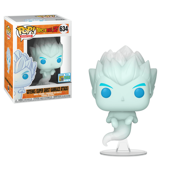 Funko POP Animation: Dragon Ball Z - Gotenks Super Ghost Kamikaze Attack SDCC 2019 Sticker (Buy. Sell. Trade.)