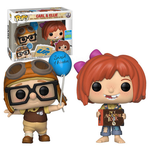 Funko POP Disney : UP - Carl and Ellie 2 Pack 2019 Summer Convention (Buy. Sell. Trade.)