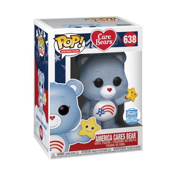 Funko Pop! Animation: America Cares Bear Funko-Shop Exclusive (Buy. Sell. Trade.)