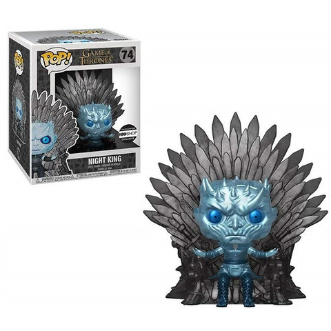Funko Pop! Game of Thrones: Night King on Throne HBO Exclusive Metallic (Buy. Sell. Trade.)
