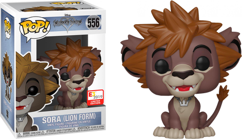 Funko Pop! Games Kingdom Hearts Sora (Lion Form) 556 E3 Exclusive (Buy. Sell. Trade.)