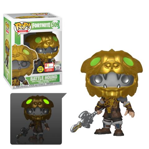 Funko Pop! Games Fortnite Battle Hound 509 E3 Exclusive Glow in the Dark (Buy. Sell. Trade.)