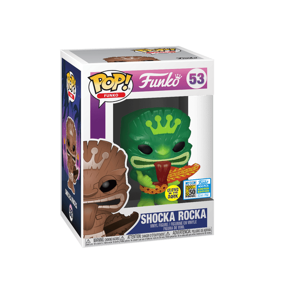 Funko Pop! SDCC 2019 Tiki Fundays Shoka Rocka Glow In the Dark Limited Edition 400 Pieces (Buy. Sell. Trade.)