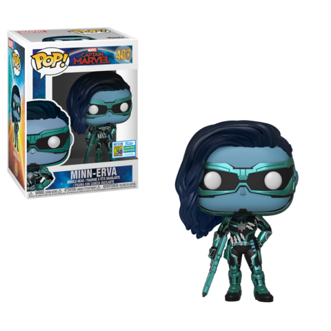 Funko POP: Marvel - Minn-erva #487 SDCC 2019 Sticker (Buy. Sell. Trade.)