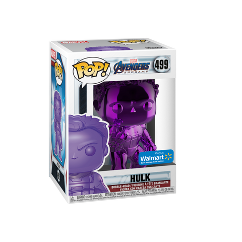 Funko POP! Marvel: Avengers End Game Purple Chrome Hulk 499 Walmart Exclusive (BUY.SELL.TRADE)