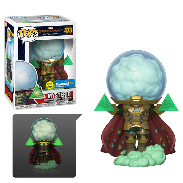 Funko Pop! Marvel: Spider-Man Far From Home Mysterio GITD Walmart Exclusive 473 (Buy. Sell. Trade.)