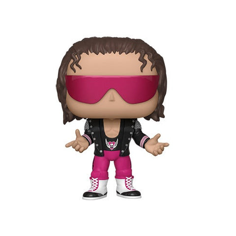 Funko POP! WWE: Bret Hart with Jacket