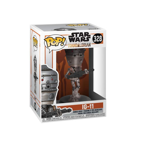 Funko POP! Star Wars: Mandalorian- IG-11