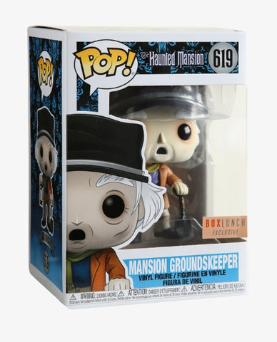 Funko Pop! Disney Haunted Mansion Mansion Groundskeeper 619 BoxLunch Exclusive (Buy. Sell. Trade.)