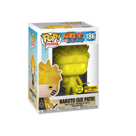 Funko Pop! Animation: Naruto - Naruto (Six Path) (GITD) 186 Hot topic Exclusive (Buy. Sell. Trade.)