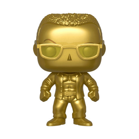 Funko Pop! WWE The Rock Smackdown Life Exclusive sticker (Buy. Sell. Trade.)