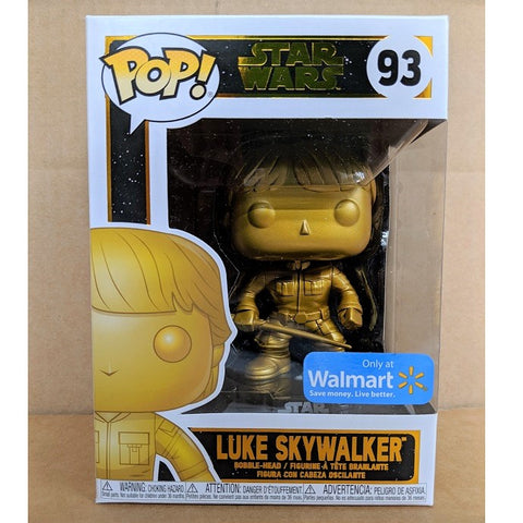 Funko Pop! Star Wars: Luke Skywalker Walmart Exclusive (Buy. Sell. Trade.)