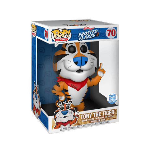 Funko Pop! AD icons Tony The Tiger 10 Inch 70 Funko shop Exclusive (Buy. Sell. Trade.)