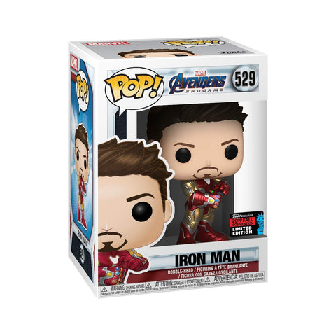 Funko POP! Marvel Avengers Endgame Iron Man 529 Amazon NYCC Exclusive Shared Sticker (Buy. Sell. Trade.)