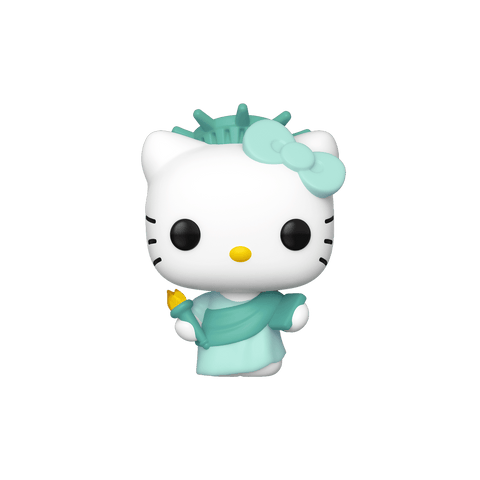 Funko Pop! Sanrio: Hello Kitty (Lady Liberty) NYCC 2019 Exclusive Shared Sticker (Buy. Sell. Trade.)