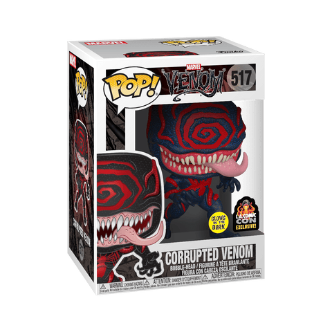 Funko Pop! Marvel: Venom - Corrupted Venom 517 (GITD) LACC 2019 Exclusive ( Buy. Sell. Trade)
