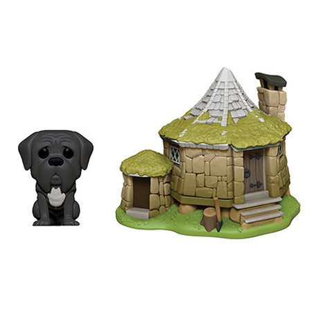 Funko POP! Town: Harry Potter Hagrid's Hut with Fang
