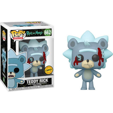 Funko POP! Animation: Rick & Morty - Teddy Rick Chase