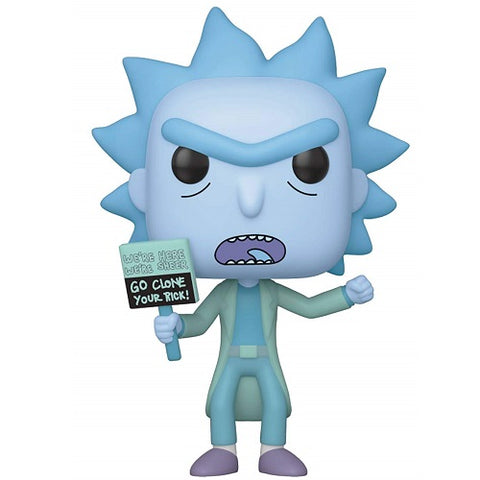 Funko POP! Animation: Rick & Morty - Hologram Rick Clone