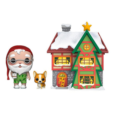 Funko POP! Town: Santa's House with Santa and Nutmeg (Coming Soon)