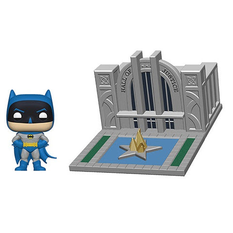 Funko POP! Town: Batman with Hall of Justice