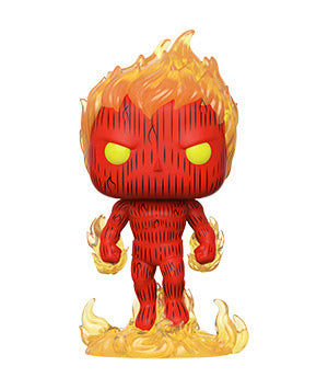Funko POP! Marvel: Fantastic Four- Human Torch