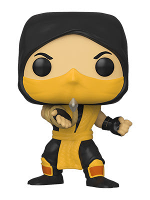 Funko POP! Games: Mortal Kombat Scorpion (Coming Soon)