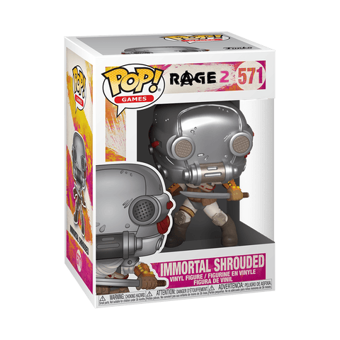 Funko POP! Games Rage 2- Immortal Shrouded