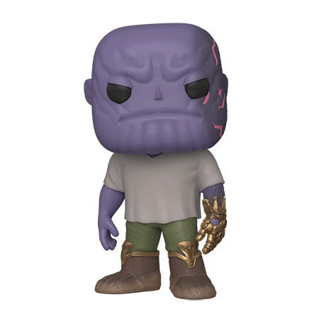Funko POP! Marvel: Avengers Endgame Casual Thanos with Gauntlet