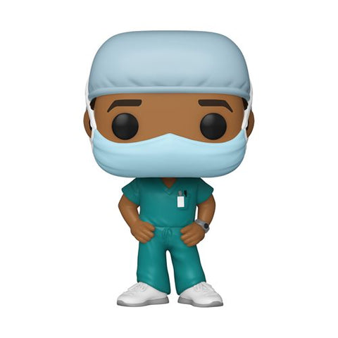 Funko POP! Heroes - Front Line Workers Male Nurse / Doctor 2
