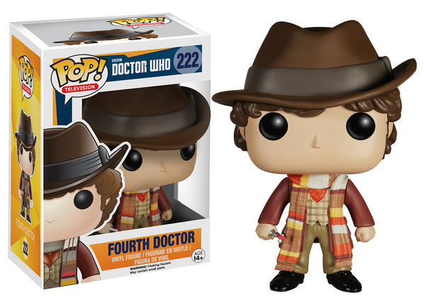 Pop! Television Vinyl Doctor Who: Dr. #4 Fourth Doctor