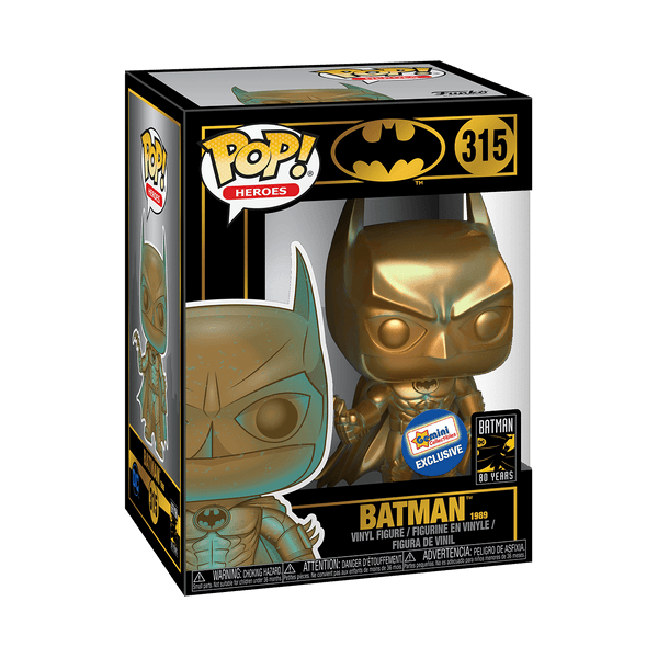 Funko POP! Heroes Batman (1989) 315 (Gemini Collectibles Exclusive) (Buy. Sell. Trade.)
