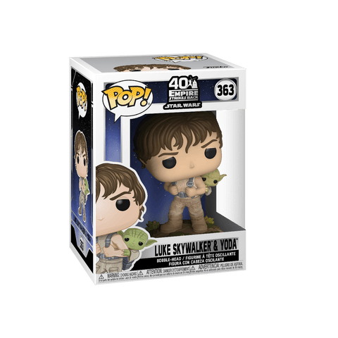 Funko Pop! Star Wars: Star Wars - Training Luke with Yoda