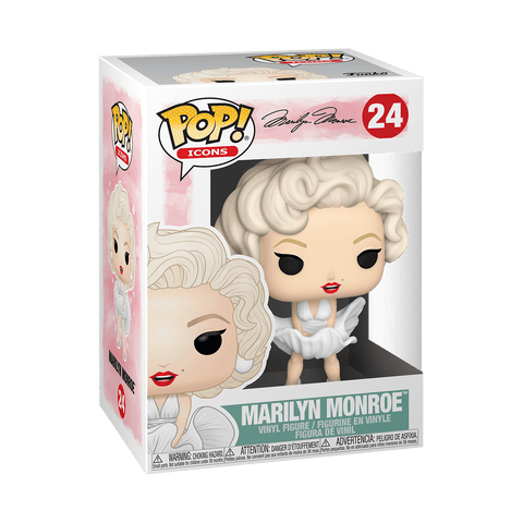 Funko Pop! Icons: Marilyn Monroe (White Dress)
