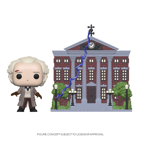 Funko Pop! Town: BTTF - Doc w/ Clock Tower (Coming Soon) New York Toy Fair Reveals