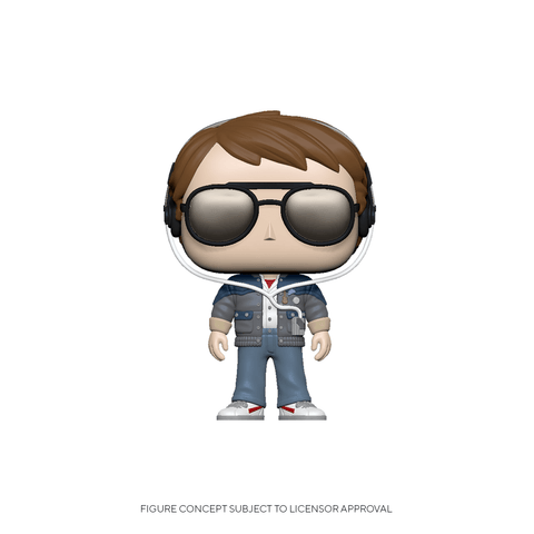 Funko Pop! Movies: BTTF - Marty w/ Glasses (Coming Soon) New York Toy Fair Reveals
