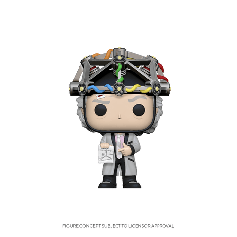 Funko Pop! Movies: BTTF - Doc w/ Helmet (Coming Soon) New York Toy Fair Reveals
