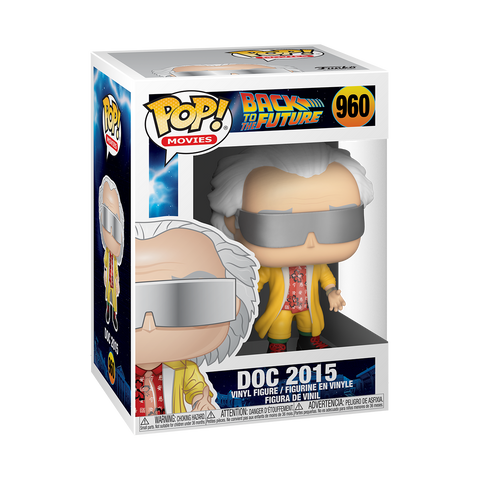 Funko Pop! Movies: BTTF - Doc 2015