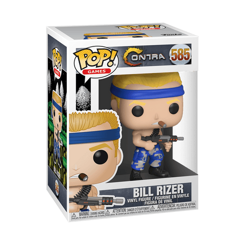 Funko POP! Games: Contra - Bill Rizer
