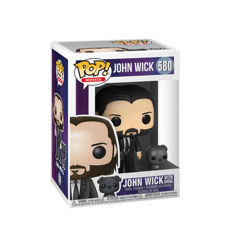 Funko Pop! Movies: John Wick Black Suit W. Dog