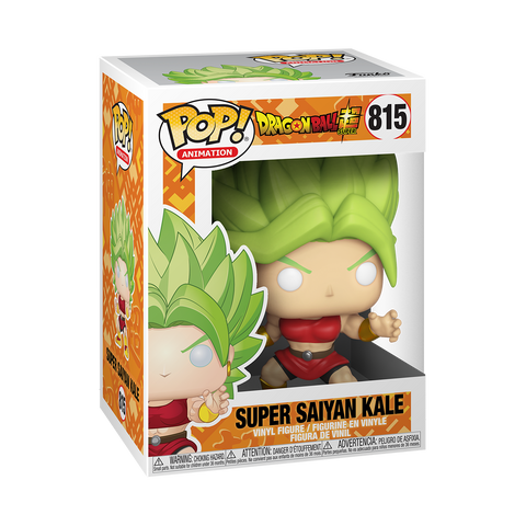 Funko Pop! Animation: Dragon Ball Super - Super Saiyan Kale