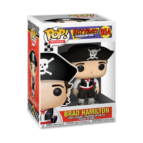 Funko Pop! Movies: Fast Times at Ridgemont High - Brad as Pirate