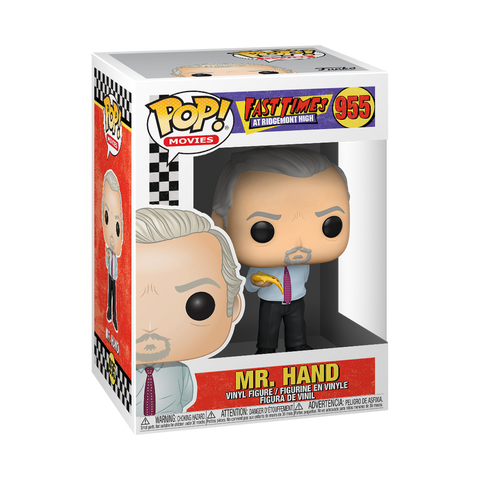 Funko Pop! Movies: Fast Times at Ridgemont High - Mr. Hand with Pizza