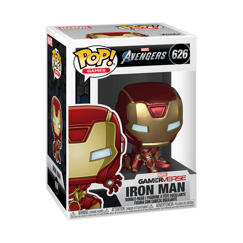 Funko Pop! Marvel: Avengers Game - Iron Man (Stark Tech Suit)